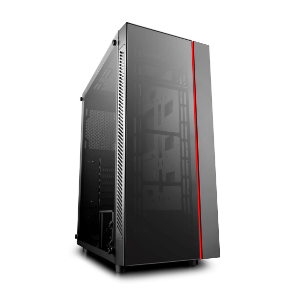Deepcool Deepcool Atx Minimalist Tempered Glass Case Fits E-atx Mb. (MATREXX 55)