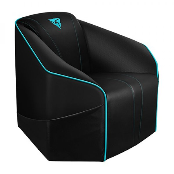Thunderx3 Thunderx3 Us5 Consoles Couch - Black/cyan (US5-BC)