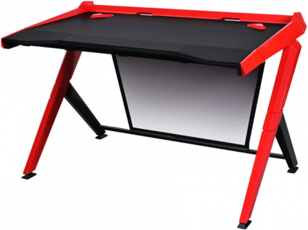 Dxracer 1000 Series Gaming Desk - Black & Red (GD/1000/NR)