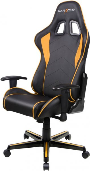 Dxracer Formula Fl08 Gaming Chair - Sparco Style Neck/lumbar Support Blac (OH/FL08/NO)