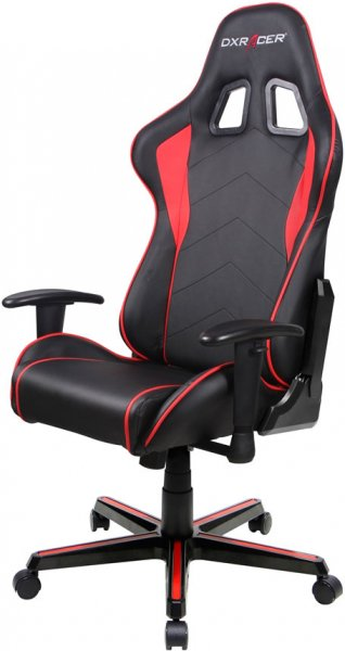 Dxracer Formula Fl08 Gaming Chair - Sparco Style Neck/lumbar Support Blac (OH/FL08/NR)