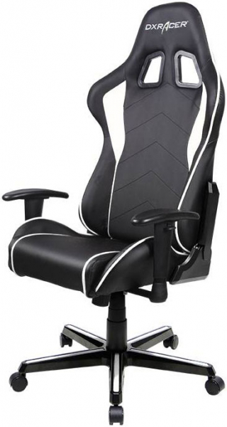 Dxracer Formula Fl08 Gaming Chair - Sparco Style Neck/lumbar Support Blac (OH/FL08/NW)