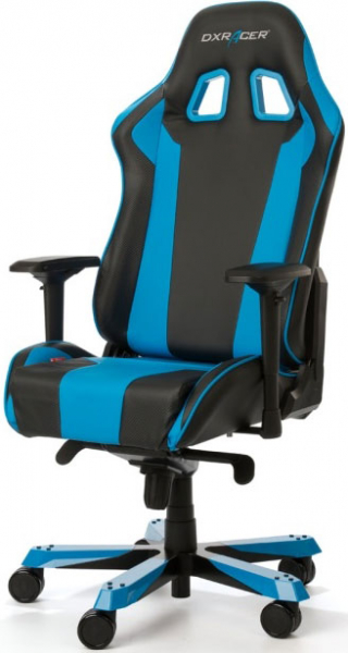 Dxracer King Ks06 Gaming Chair - Neck/lumbar Support Black & Blue (OH/KS06/NB)
