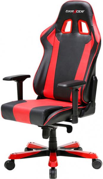 Dxracer King Ks06 Gaming Chair - Neck/lumbar Support Black & Red (OH/KS06/NR)