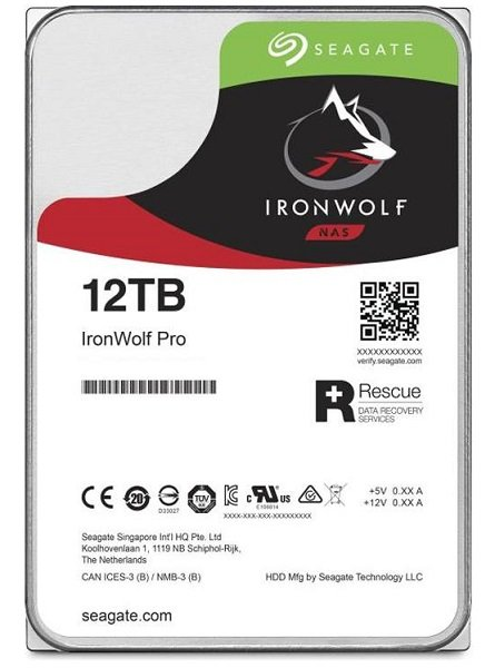 Seagate Ironwolf Pro Nas HDD 3.5