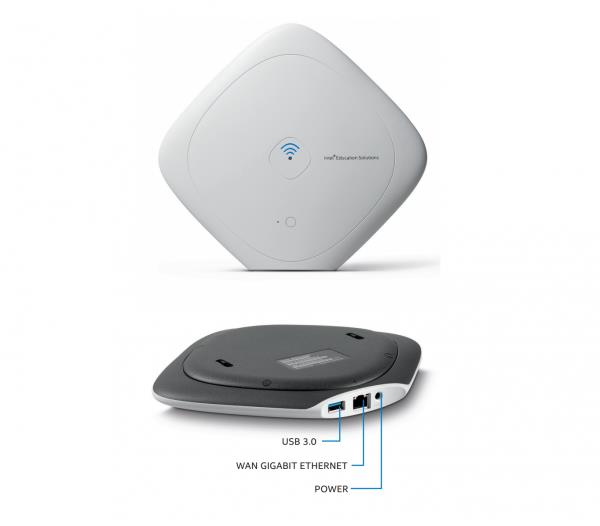 Intel Class Connect Ap W/500gb Access Point + Content Hosting (WRTD-303N)