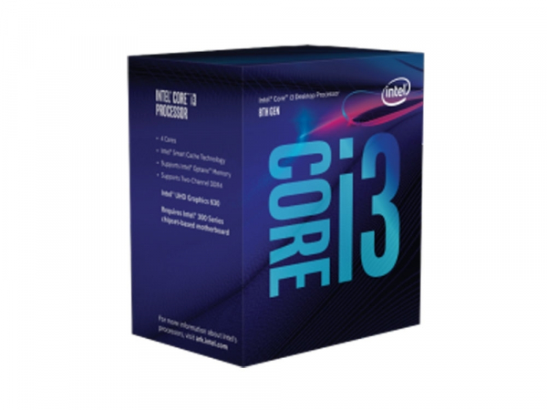 Intel Boxed Core I3-8100 Coffee Lake Processor (6m Cache 3.60 Ghz) Fc-lga14c (BX80684I38100)