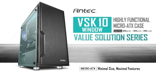 Antec Matx Case. 2x Usb 3.0 Thermally Advanced Builder