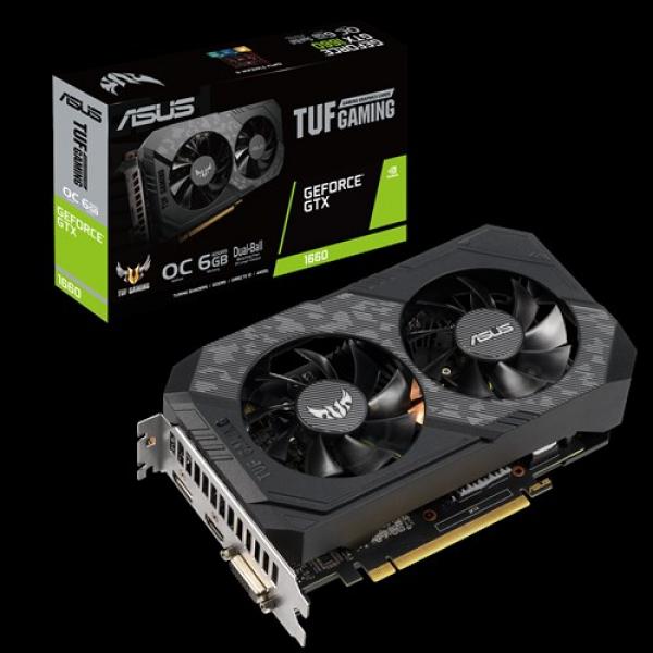 Asus Asus Nvidia Tuf-gtx1660-o6g Tuf Gaming Geforce Gtx 1660 Oc Editio (TUF-GTX1660-O6G-GAMING)