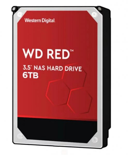 Western Digital 6TB, 256 MB, 3.5