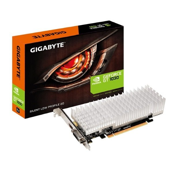Gigabyte Nvidia Geforce Gt 1030 2gb Ddr5 Silent Pcie Video Card 4k60hz Hdm (GV-N1030SL-2GL)