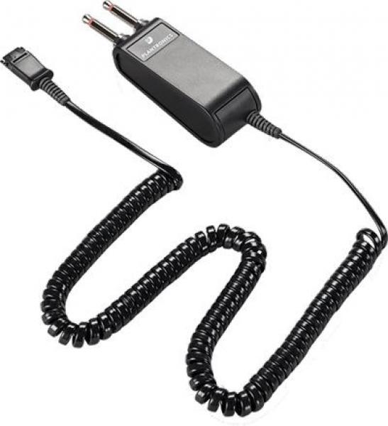 PLANTRONIC  S P10 Plug Prong Amp 10' Coil 29362-59