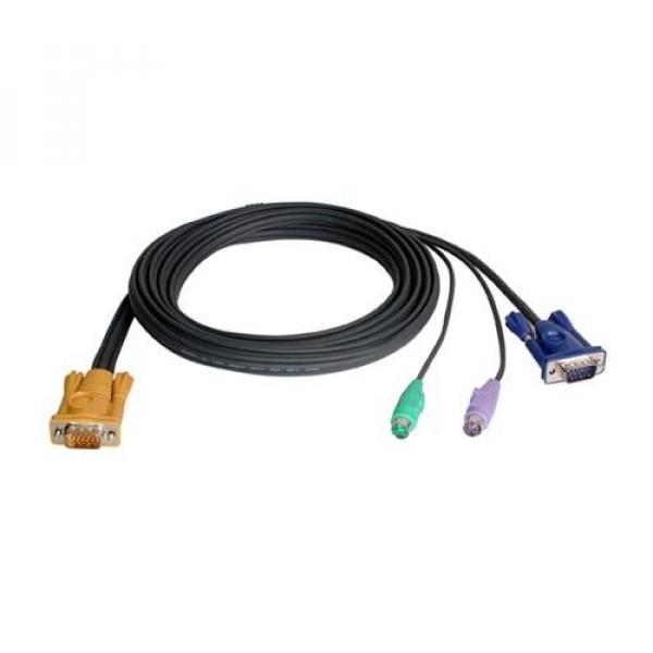 ATEN  Kvm Cable Sphd15m - Ps2m Ps2m Hd15m 3m ( 2L-5203P