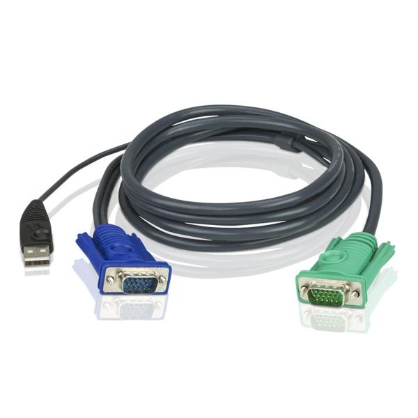 ATEN  Kvm Cable Sphd15m - Usb Hd15m 3m - 2L-5203U