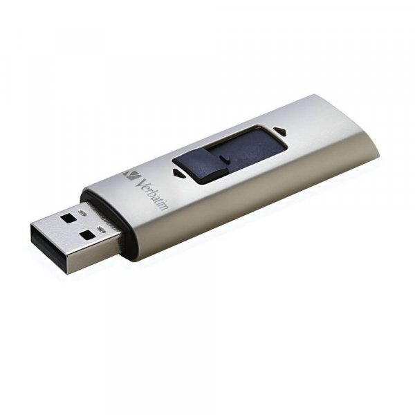 Verbatim VX400 Solid State USB 3.0 Drive 128GB SSD Drives (47690)