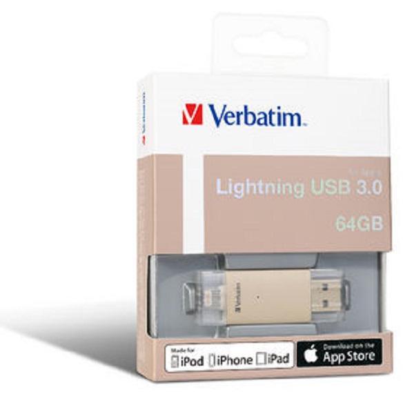 VERBATIM Apple Lightning Usb 3.0 Drive 64gb - 65079