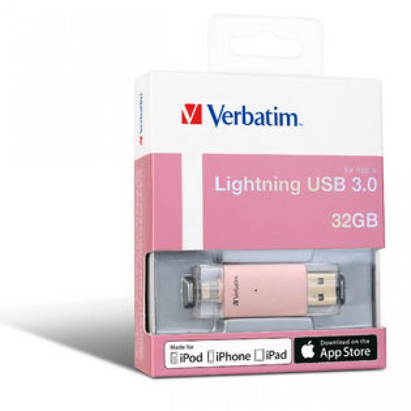 VERBATIM Apple Lightning Usb 3.0 Drive 32gb - 65080