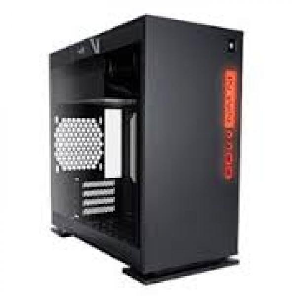 IN WIN 301 Micro-atx Case Black Secc Tempered 301-BLACK