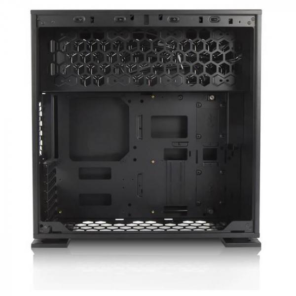 Inwin Case 303 03 MID TOWER BLACK SECC TEMPERED 303-BLACK