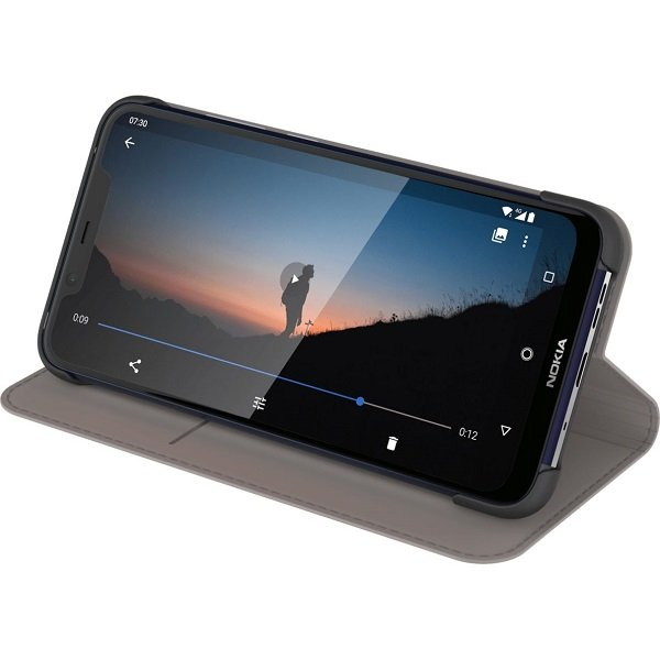 Nokia 8.1 Flip Cover Grey ( 8p00000046 )