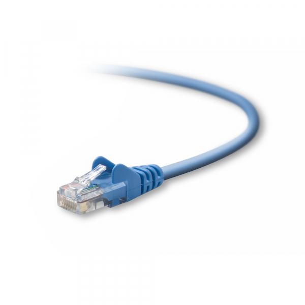 Belkin 2m CAT5E Snagless Patch Cable - Blue (A3L791BT02MBLUS)