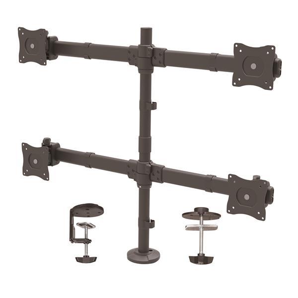 STARTECH Desk Mount Quad Monitor Arm - ARMQUAD