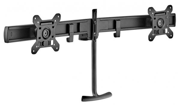 Atdec Dual Rail Crossbar - Black (AWM-LR-B)