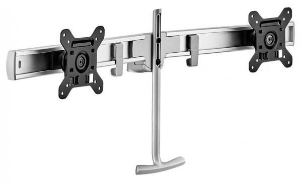 Atdec Dual Rail Crossbar - Silver (AWM-LR-S)