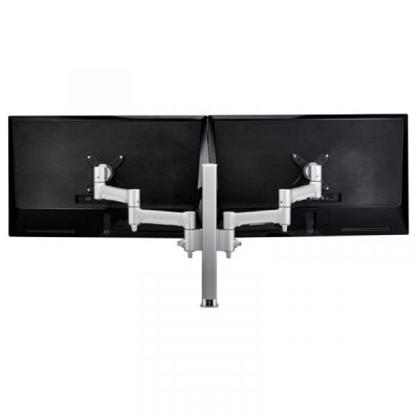 Atdec Awm Dual Monitor Arm Solution - Silver (AWMS-2-4640G-S)
