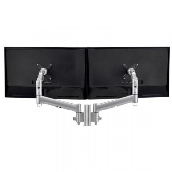 Atdec Awm Dual Monitor Mount - Silver (AWMS-2-D13F-S)