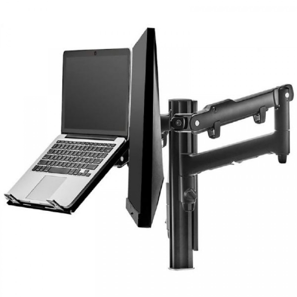 Atdec Awm Dual Monitor Arm - Black (AWMS-2-ND13G-B)