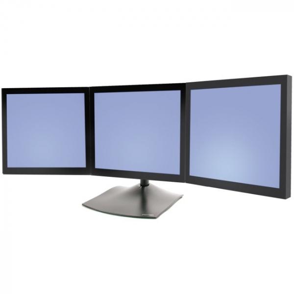 ERGOTRON Triple Monitor Stand Black 33-323-200