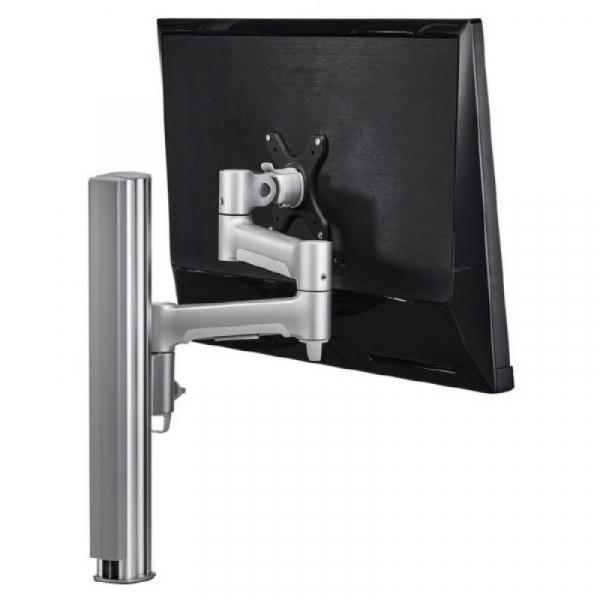 Atdec Awm Single Monitor Arm - Silver (AWMS-4640B-S)