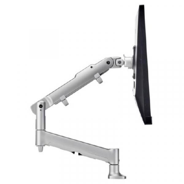 Atdec Awm Single Monitor Arm - Silver (AWMS-DBG-S)