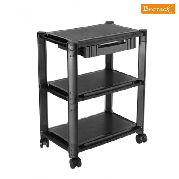 BRATECK Height-adjustable Smart Cart Xl With BT-AMS-5L