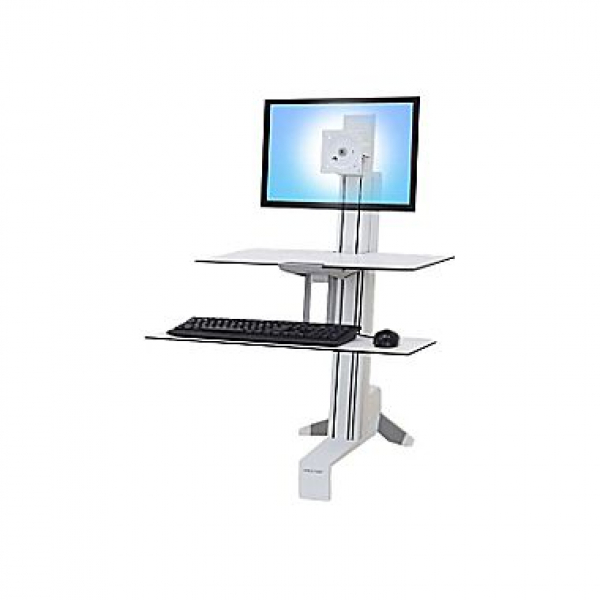 ERGOTRON Workfit-s Single-ld Worksurface & Large 33-350-211