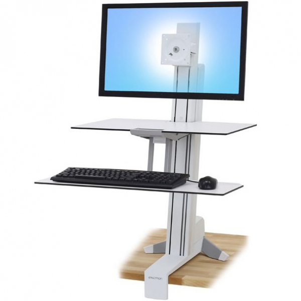 ERGOTRON Workfit-s Single-hd Worksurface & Large 33-351-211
