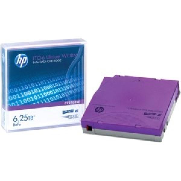 HP Lto-6 Ultrium 6.25 Tb Bafe Worm Data C7976BW