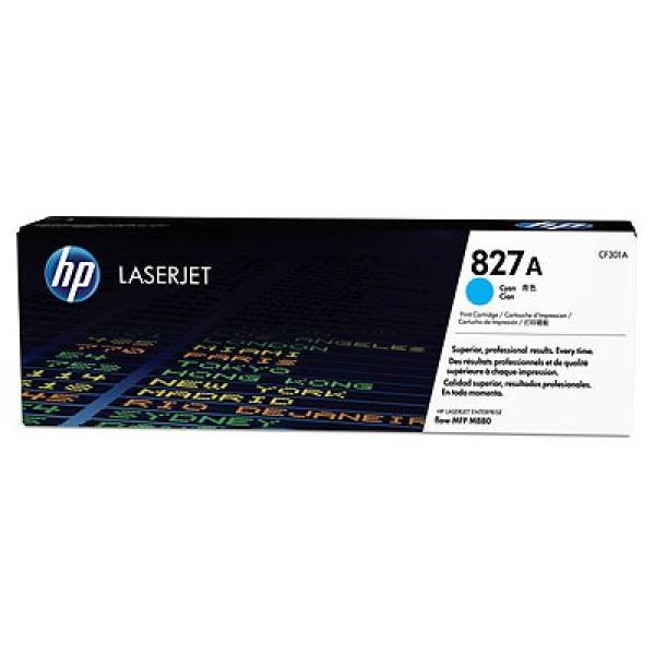 HP 827a Cyan Laserjet Toner 32k CF301A
