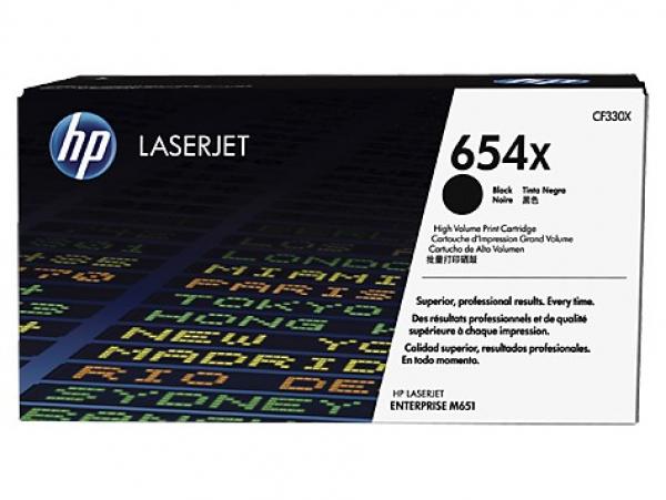 HP 654x Black Laserjet Toner CF330X