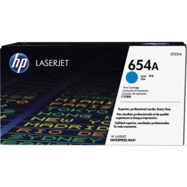 HP 654a Cyan Laserjet Toner CF331A