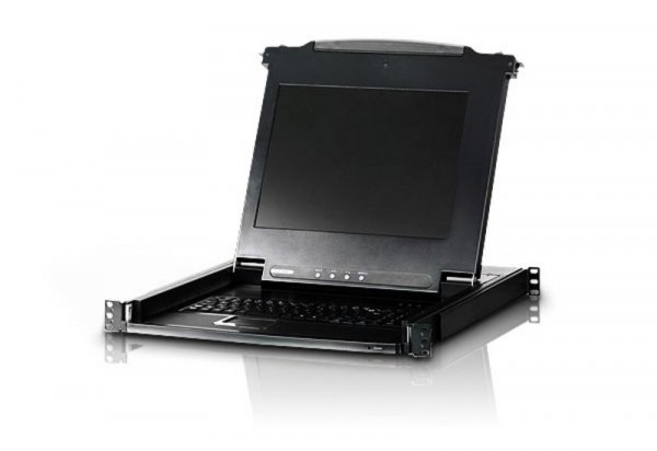 ATEN Rackmount Usb-ps/2 Vga Single Rail CL1000N-ATA-AU