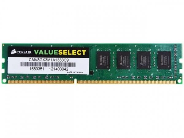 CORSAIR 8gb (1x8gb) Ddr3 1600mhz Value Select CMV8GX3M1A1600C11