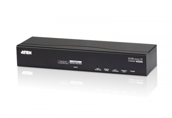 ATEN 1-port Dvi-d Kvm Over Ip Audio /virtual CN8600-AT-U