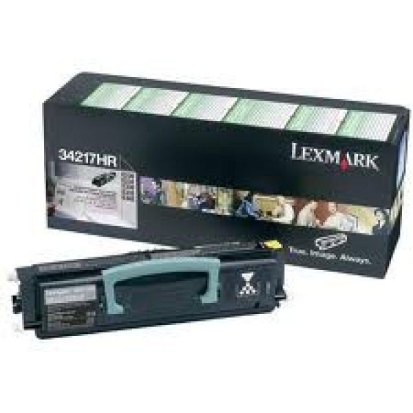 LEXMARK Black (return Program) Toner Yield 2500 34217HR
