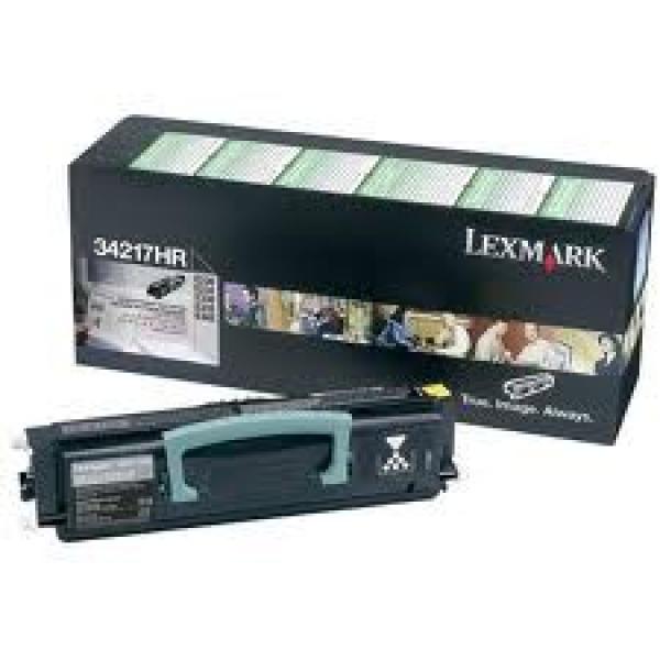LEXMARK Black (return Program) Toner Yield 2500 34217HR