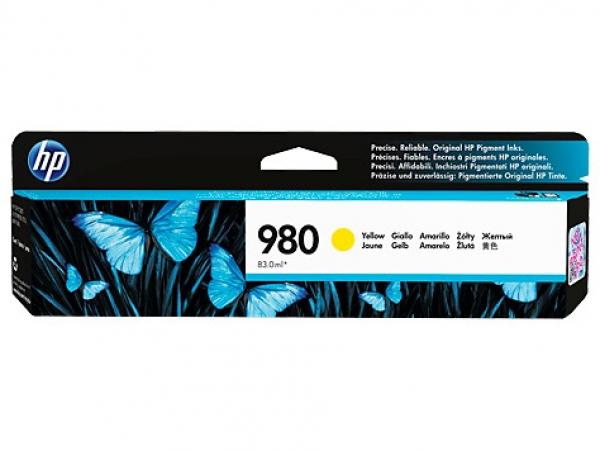 HP 980 Yellow Ink Cart 6.6k D8J09A