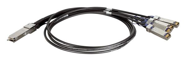 D-LINK 40G QSFP + To 4x 10G SFP+ 1 M Direct (DEM-CB100QXS-4XS)