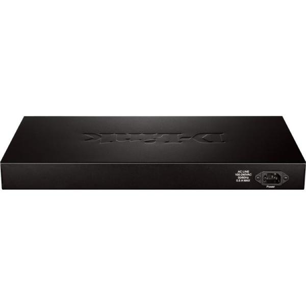 D-LINK 24-p Websmart Switch Gigabit - DGS-1210-28