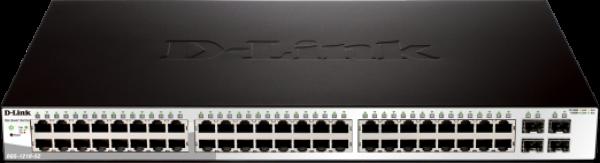 D-LINK 48-port 10/100/1000mbps + 4-port Sfp DGS-1210-52